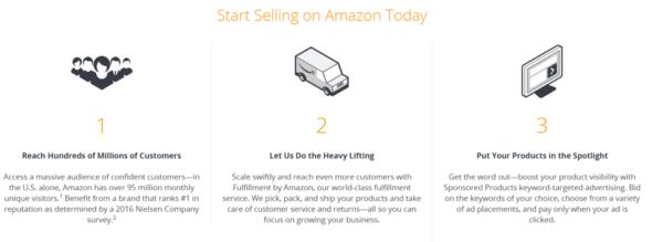 Hướng dẫn kinh doanh kiếm tiền với Amazon.com