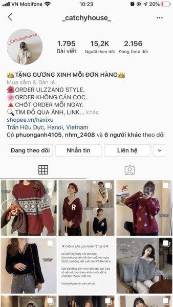 Liên Kết Shopee Với Instagram