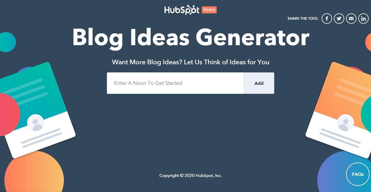 Hubspot blog theme creator