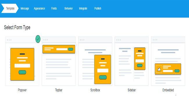 Mailchimp là gì? Các định dạng form đăng ký của MailChimp