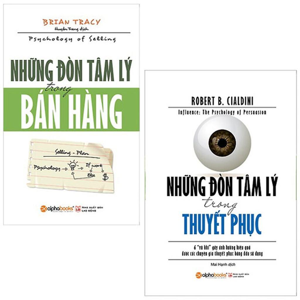 Sách - Combo Những Đòn Tâm Lý Trong Bán Hàng và Những Đòn Tâm Lý Trong Thuyết Phục | Shopee Việt Nam