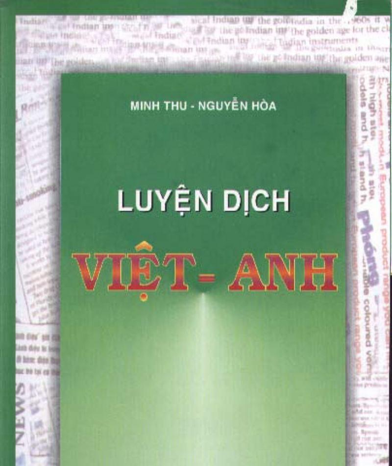 Luyện dịch Việt Anh