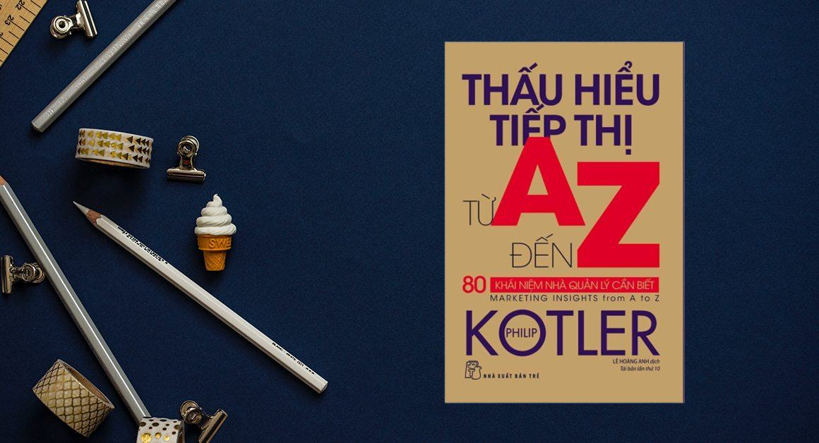 Review sách Thấu hiểu tiếp thị từ A đến Z - Philip Kotler - gemysix