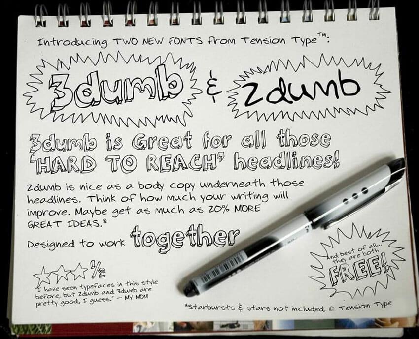 Font chữ viết tay miễn phí 18