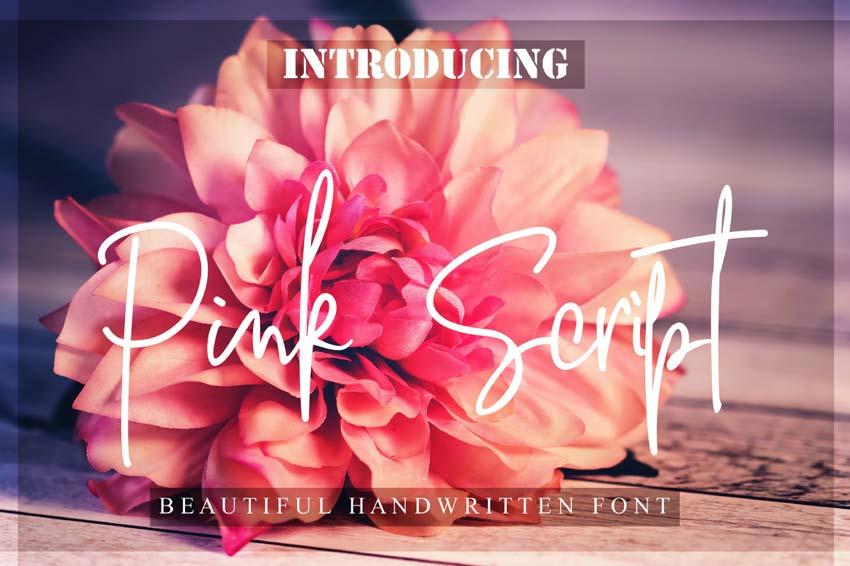 Font chữ viết tay miễn phí 5