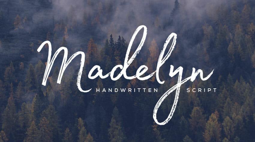 Font chữ viết tay miễn phí 6