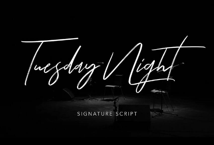 Font chữ viết tay miễn phí 8