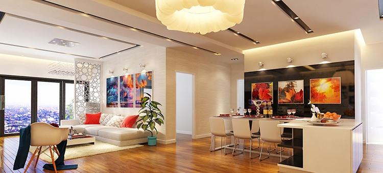 Thiết kế nội thất chung cư hiện đại đẹp - Thiết kế và thi công nội thất Homy