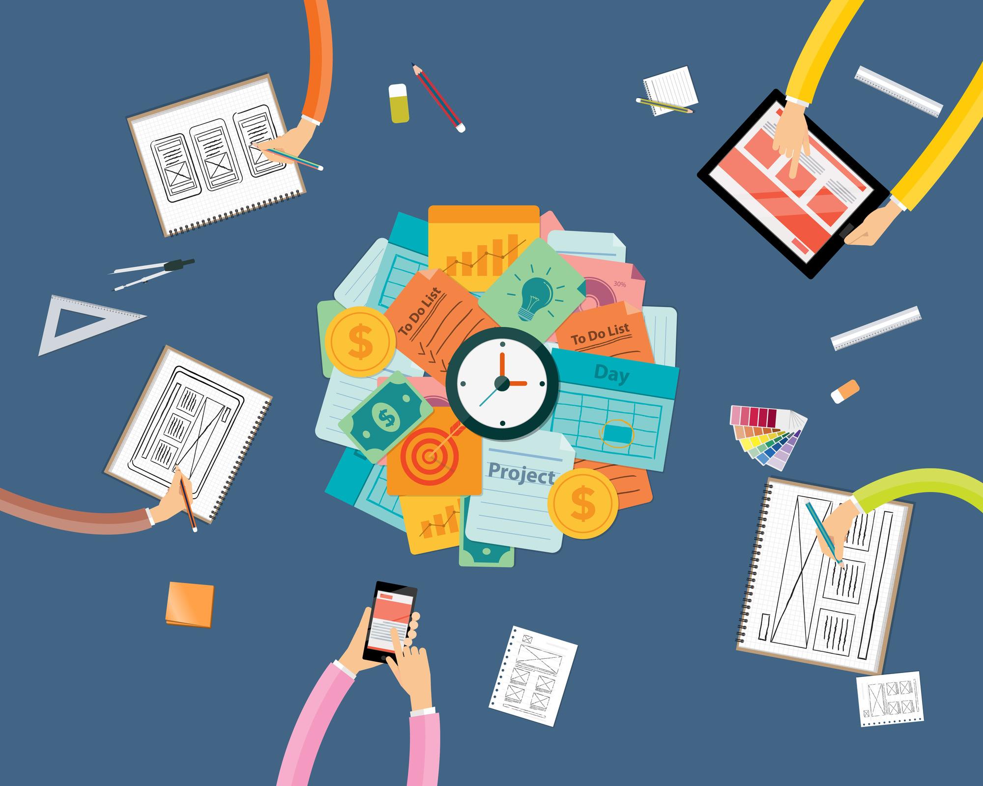Đặc thù công việc ở agency và client là khác nhau