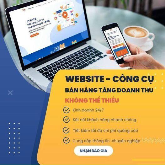 Thiết kế website chuẩn SEO tại ATPWeb