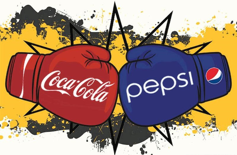 """""""Cuộc chiến"""" giữa Coca Cola và Pepsi"""