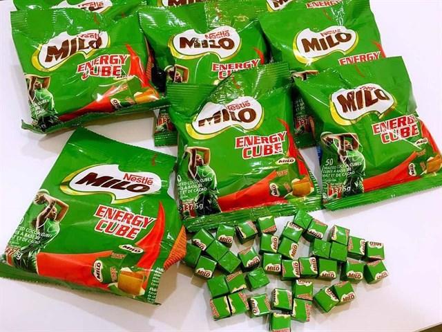 """Kẹo milo rất """"được lòng"""" các khách hàng nhí trên khắp thế giới"""